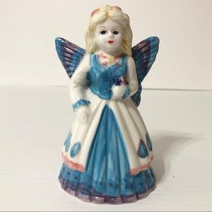 Vintage Angel Fairy Bell Hand Painted Collectible